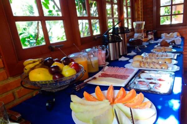 Café da Manhã - Pousada da Mantiqueira - Visconde de Mauá